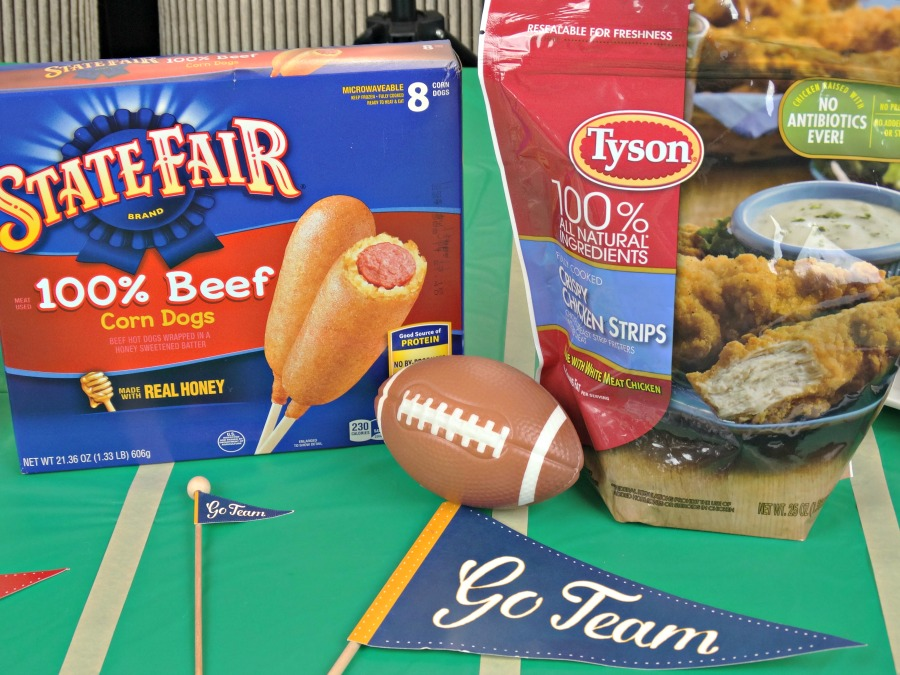 tailgating appetizers with State Fair and Tyson