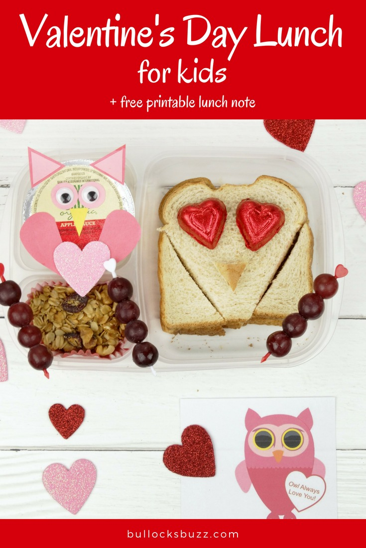 This fun and delicious Valentine's Day Lunch for Kids is one your children are sure to love! Made with Santa Cruz Organic products, it's good for them, too! I've also included a sweet Valentine'slunch noteyou can download, print and use!