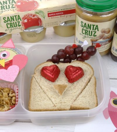 Valentine's Day Lunch for Kids + Printable Lunch Note