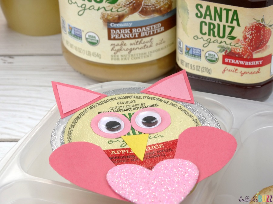 Valentine's Day Lunch for Kids with Santa Cruz Organics