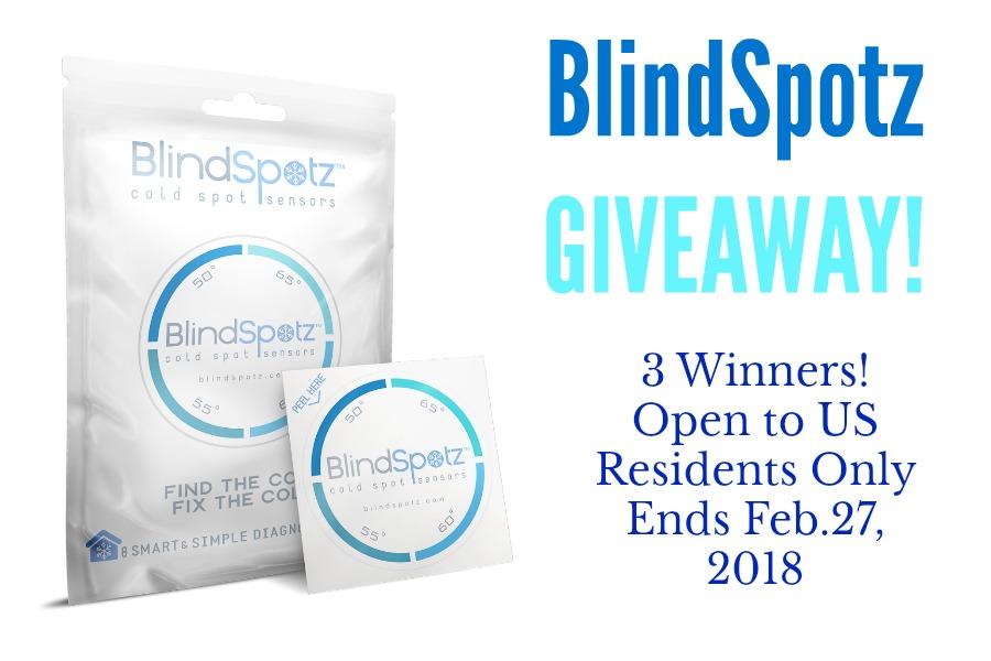 BlindSpotz cold sensor giveaway