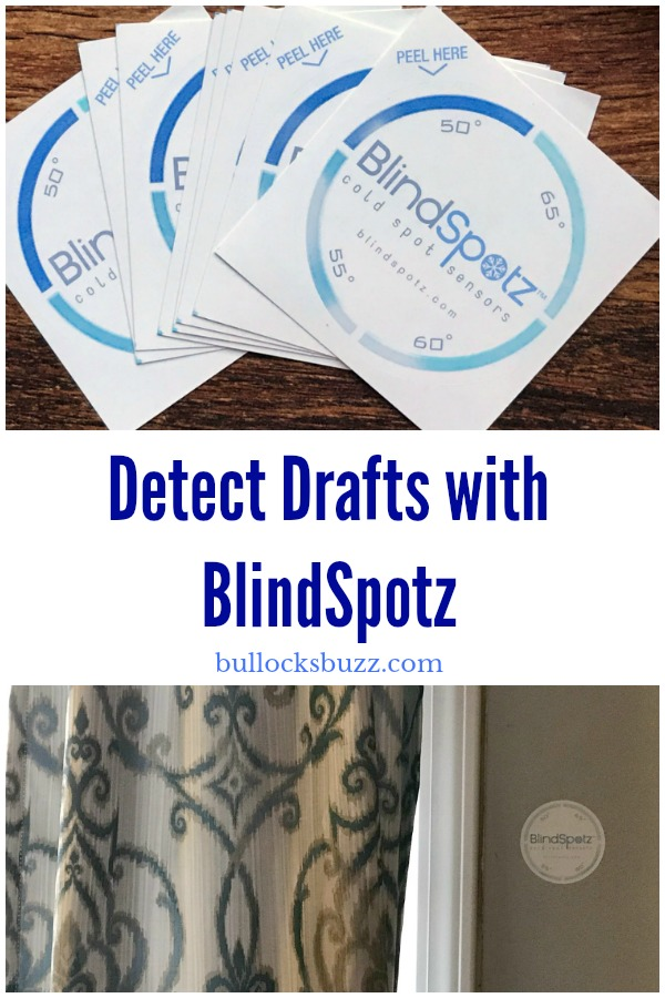 Detect drafts the quick, easy and inexpensive way with BlindSpotz cold sensors