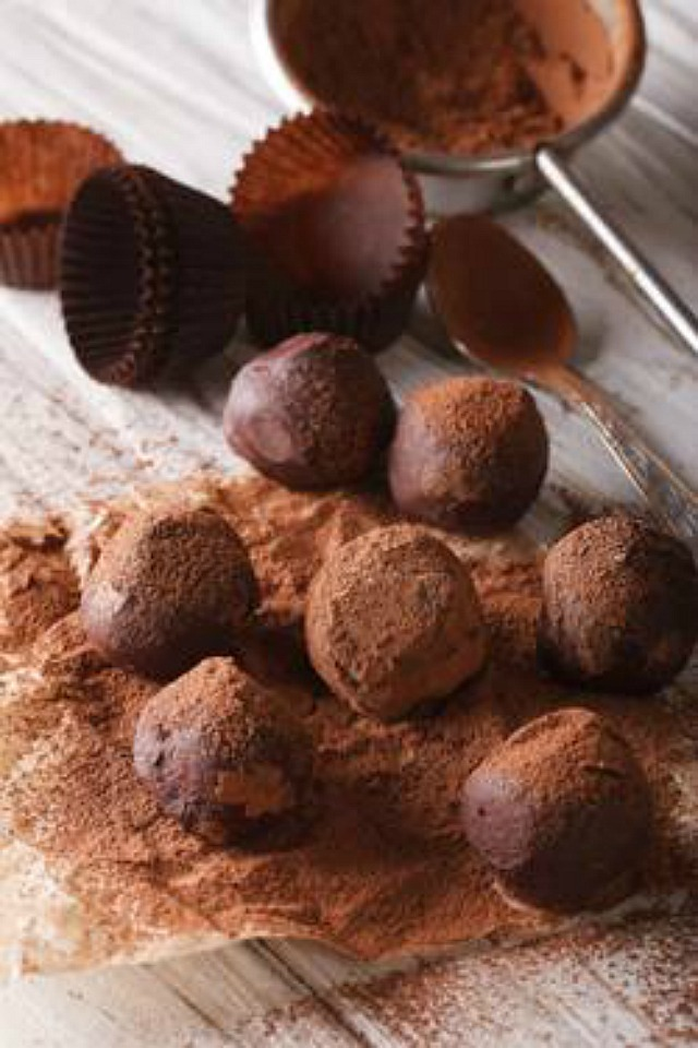 Chocolate Truffles recipe made with Stevia In The Raw