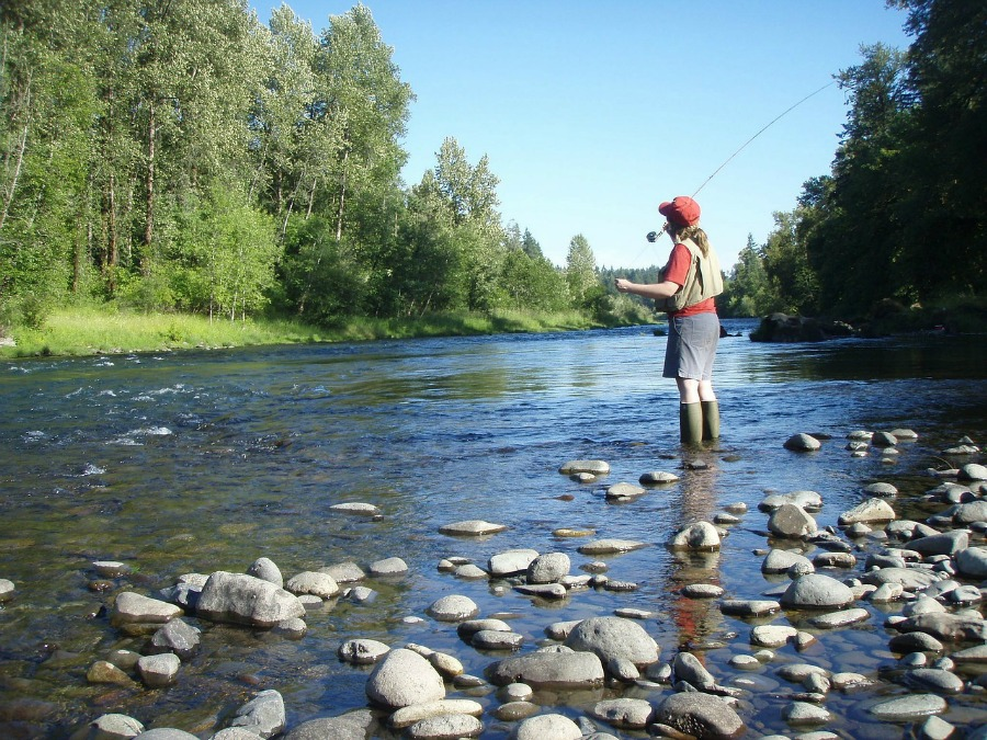 adventurous vacation ideas fly fishing