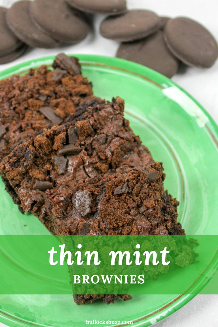 Transform that classic crunchy Girl Scout cookie into a sliceable sweet with this quick and easy recipe for Thin Mint Brownies!