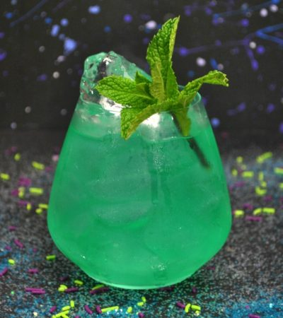 Avengers Cocktail: The Time Stone (and a Mocktail Version for Kids)