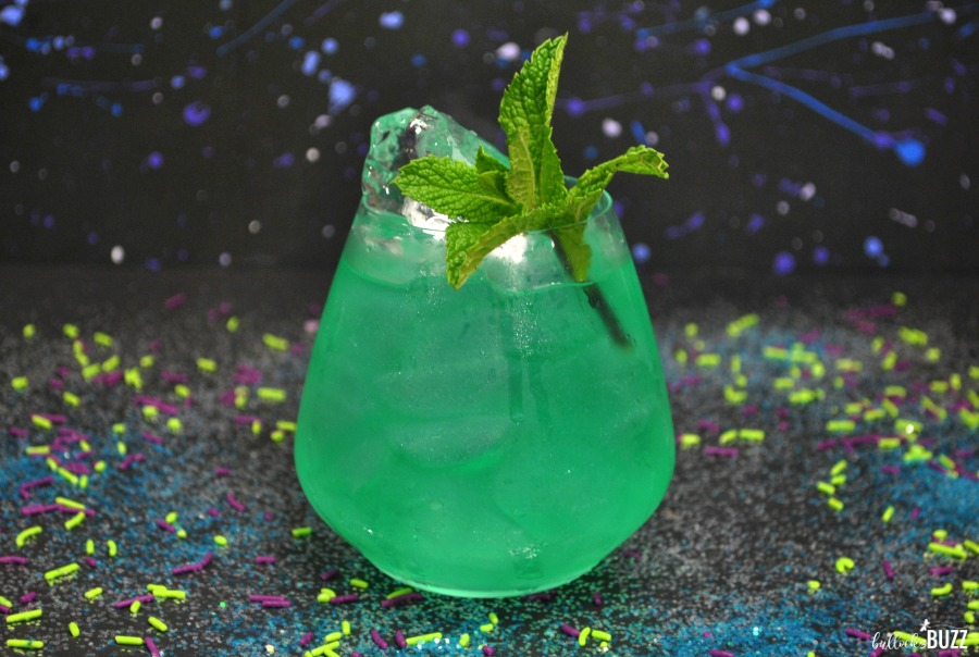 The Time Stone is a tasty Avengers Cocktail perfect for the upcoming Marvel Avengers movie, Infinity War!