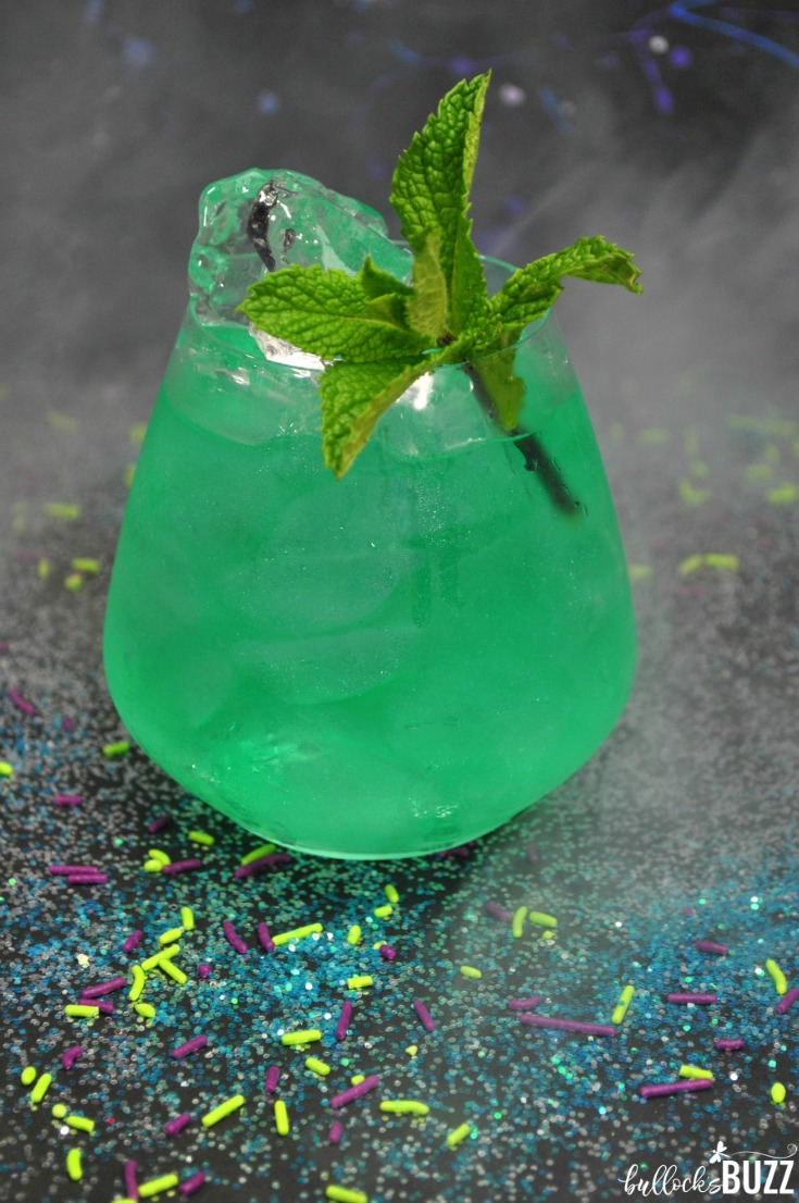This smooth and delicious Avengers cocktail, The Time Stone, is ideal for movie parties, birthdays and more!