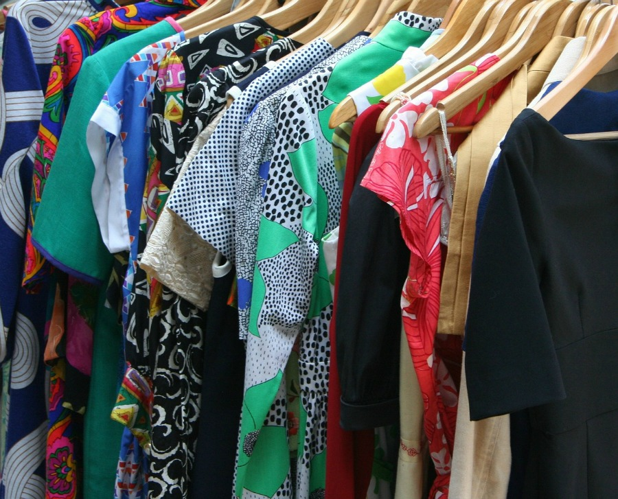 clean out the closet is a great way to prepare your home for spring