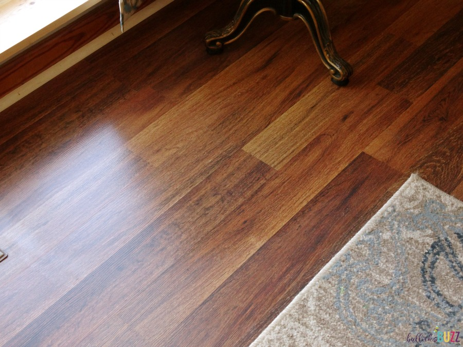 cleaning laminate floors after