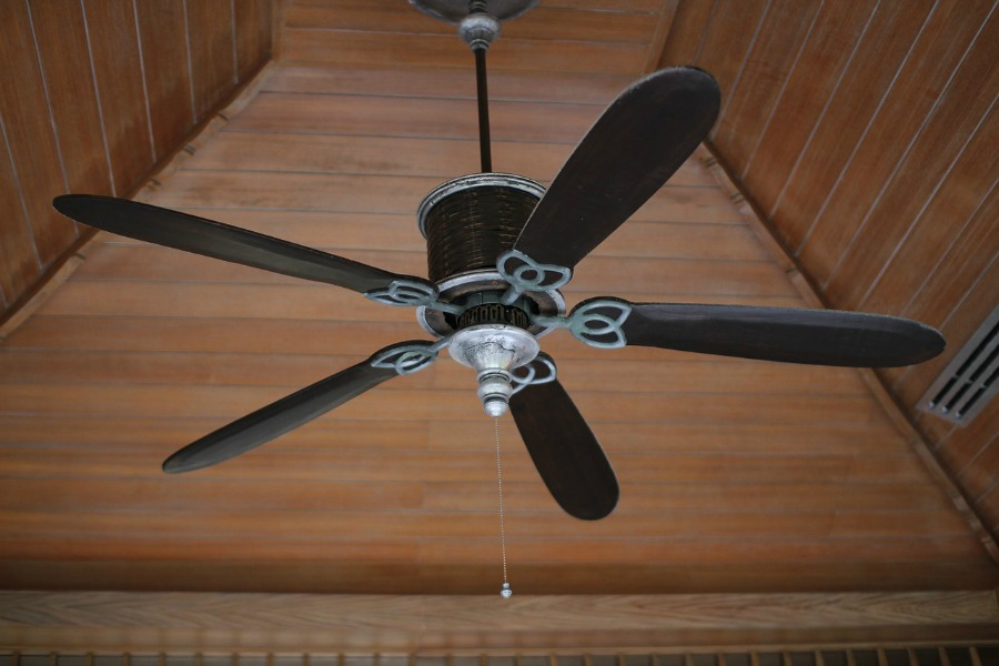 prepare your home for spring by serving ac and cleaning ceiling fans