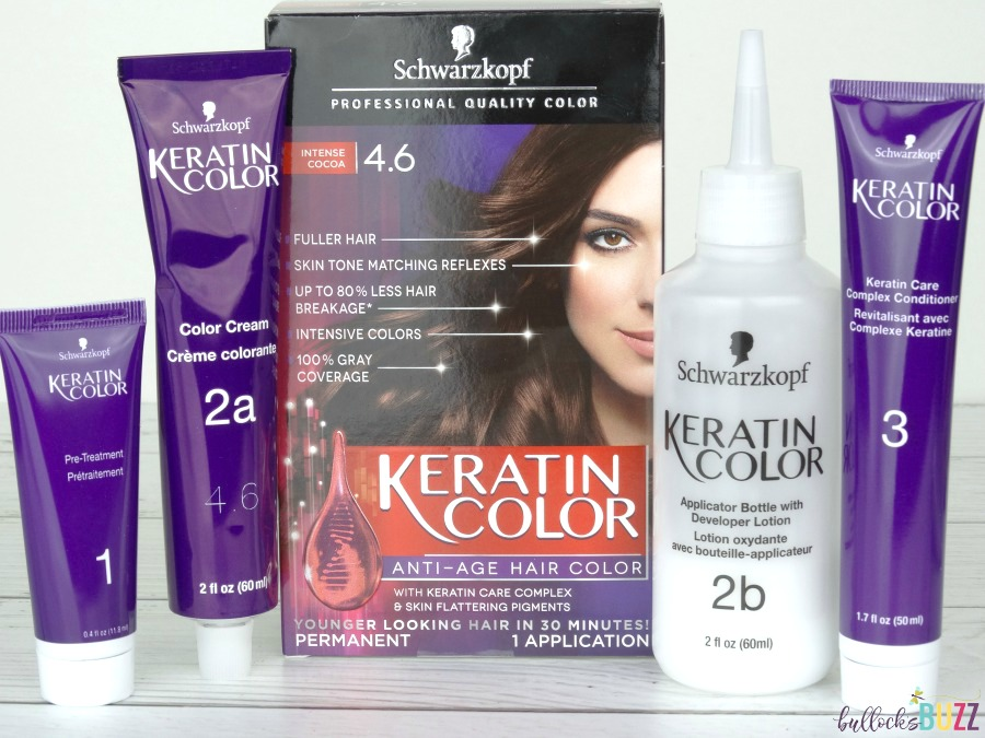 DIY Bobby Pins and Schwarzkopf Keratin Color complete line
