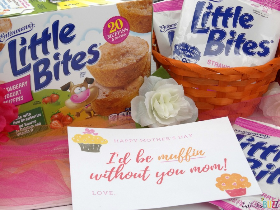Printable Mother's Day card and gift basket idea