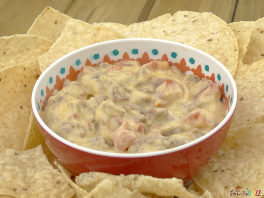 Quick and Easy Nacho Dip Recipe finished