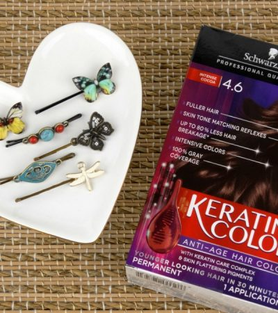 DIY Bobby Pins Tutorial + Get Gorgeous Color with Schwarzkopf® Keratin Color