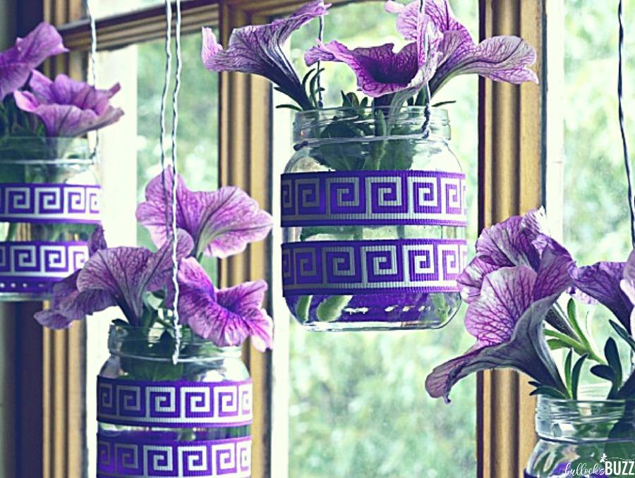 summer decorating ideas diy hanging flower vases