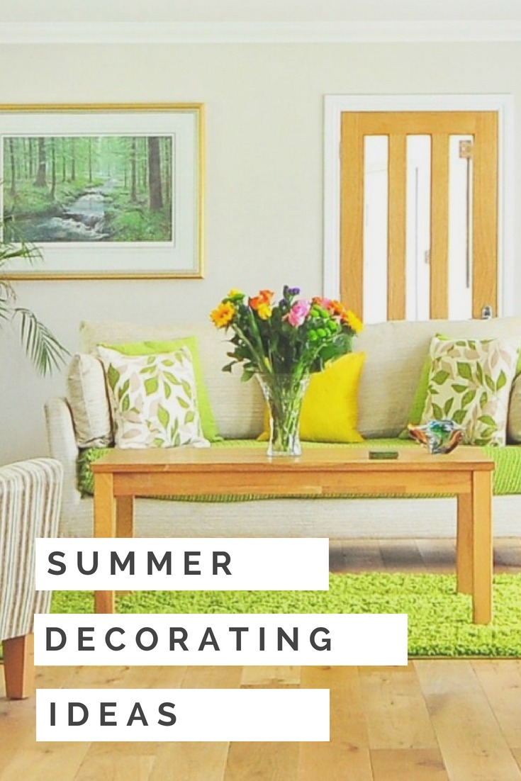Get your home ready for summer with these easy decorating tips. These three simple summer decorating ideas make refreshing your home on a budget a breeze, so you can sit back, relax and enjoy the carefree days of the summer season.