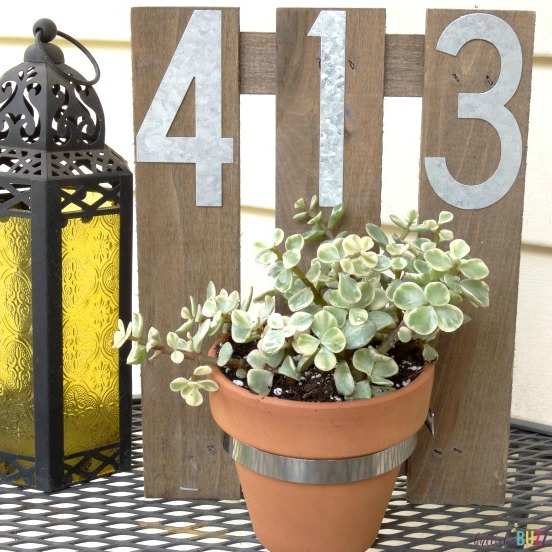 DIY House Number Wall Planter preview