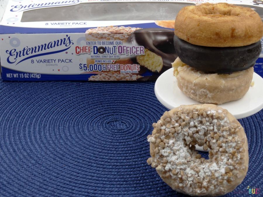 Entenmann's Variety Pack DIY Donut Ice Cream Sandwich