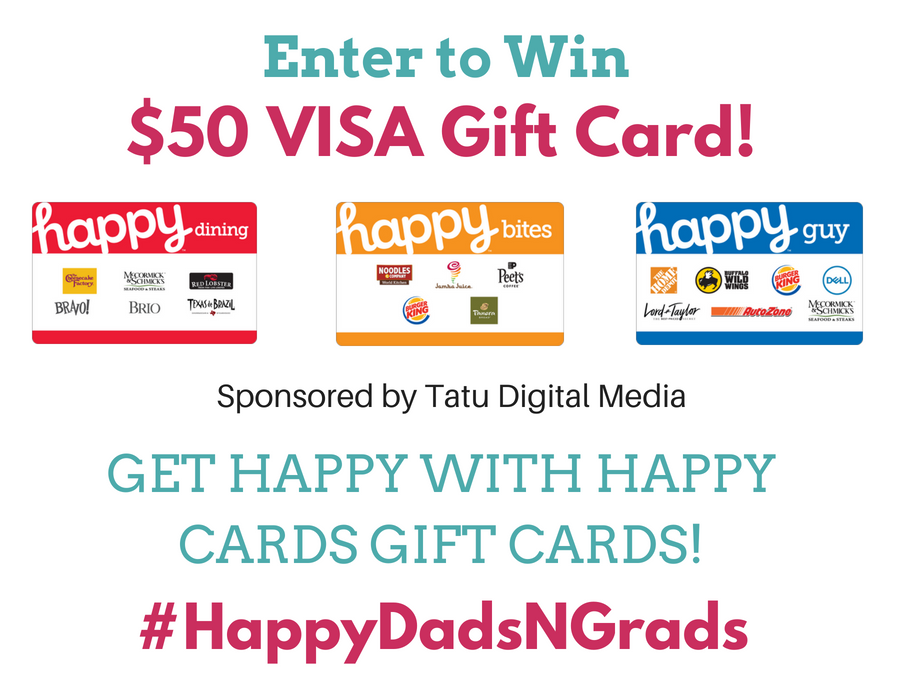 HAPPY CARDS GIFT CARDS - NO FEES! giveaway