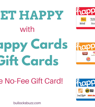 Get Happy with Happy Cards Gift Cards – The No-Fee Gift Card!