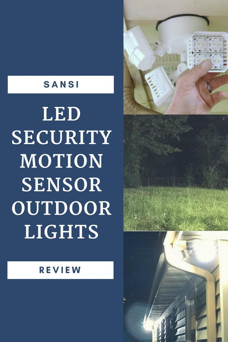 Sansi Led Security Motion Sensor Outdoor Lights Review