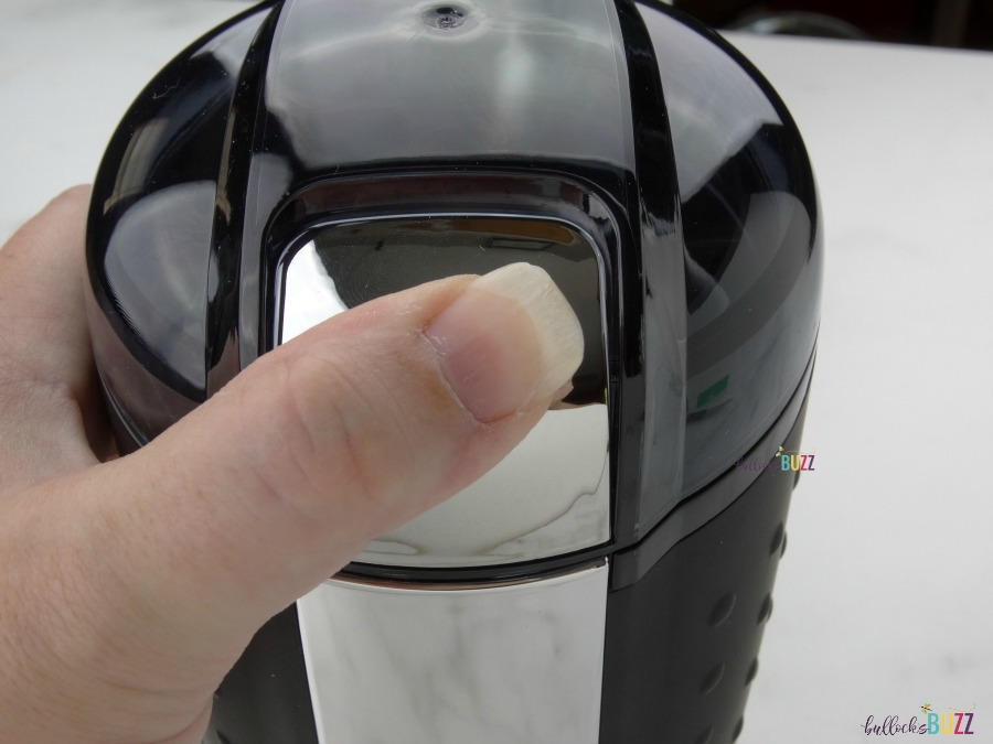 Vremi coffee grinder one touch operation