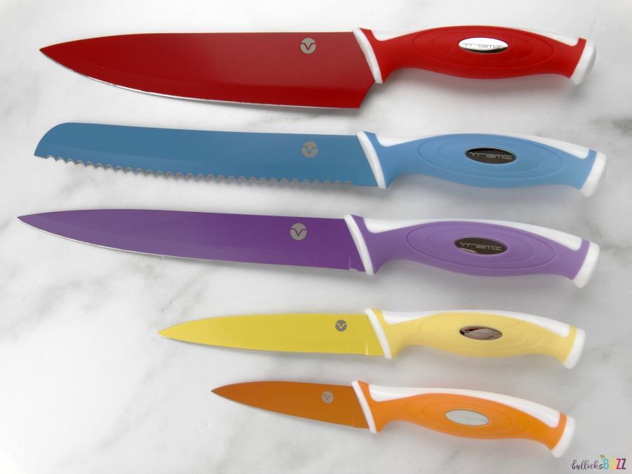 Vremi 10 piece professional knife set