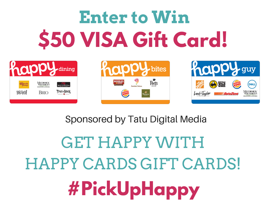 HAPPY CARDS NO FEE GIFT CARDS at Kroger giveaway