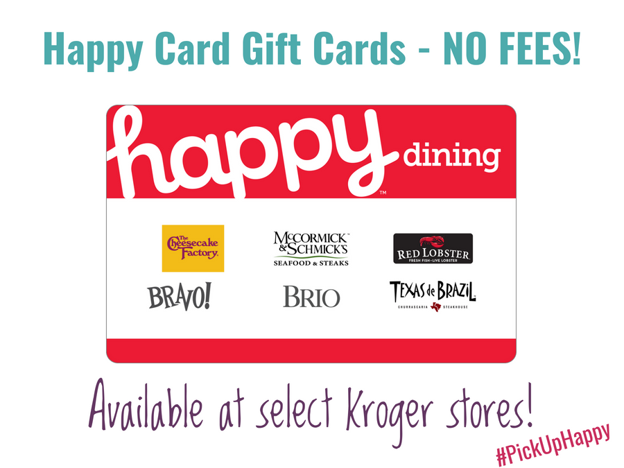 Happy Card Gift Cards Happy Dining