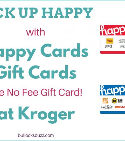 Happy Cards No Fee Gift Card – #PickUpHappy at Kroger