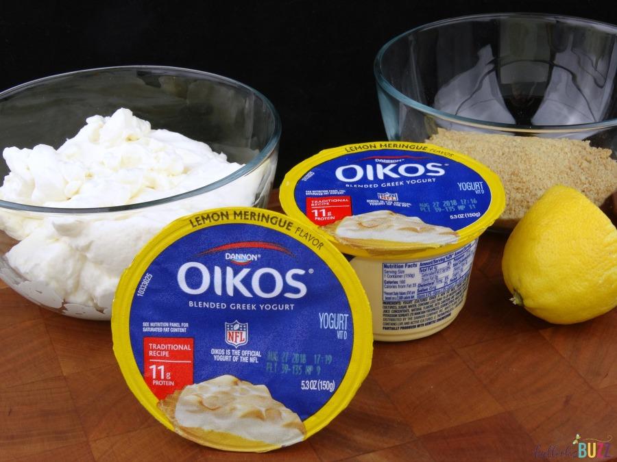 No-Bake Lemon Meringue Pie Cups ingredients