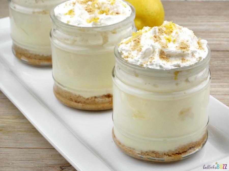 No-Bake Lemon Meringue Pie Dessert Cups simple