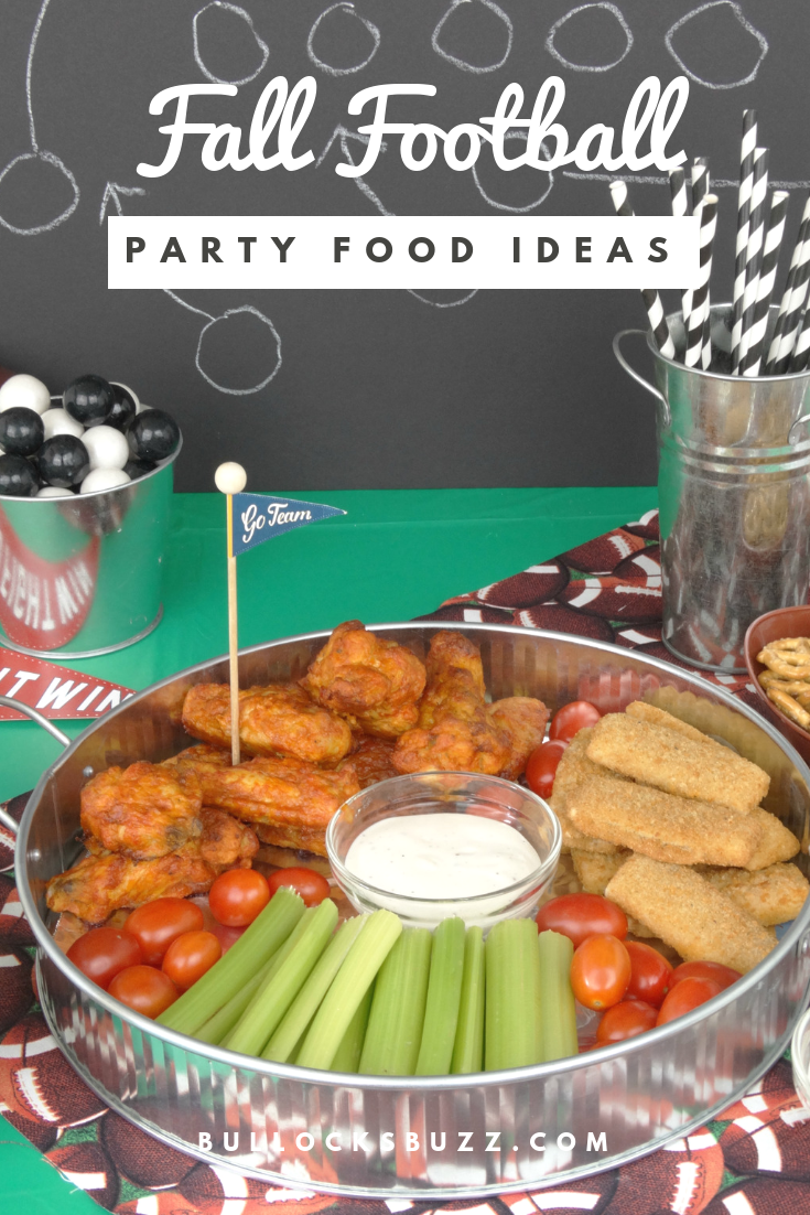 Whether you are tailgating with friends or rooting on the sidelines from the comfort of home, delicious munchies are a fall football party must! Feed your hungry crowd some tasty game day snacks including Tyson® Any'tizers® Buffalo Style Bone-In Chicken Wings served with my Homemade Ranch Dipping Sauce.