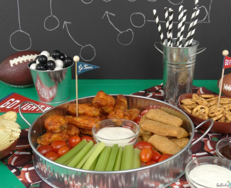 Fall Football Party Food Ideas + Homemade Ranch Dipping Sauce Recipe