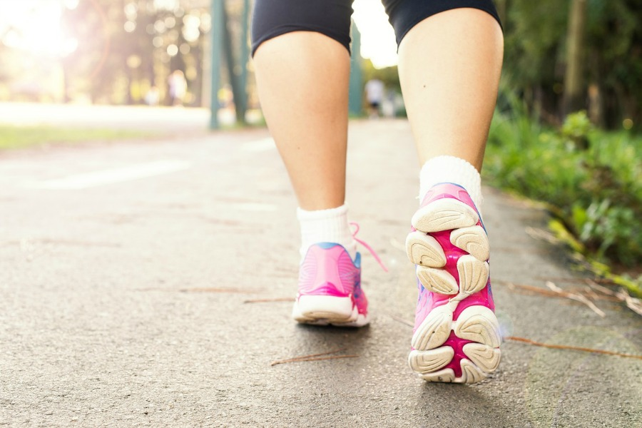 outdoor workout ideas walking