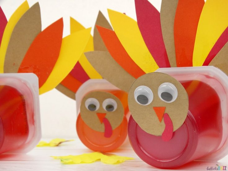 Jello Pack Thanksgiving Turkey Treats