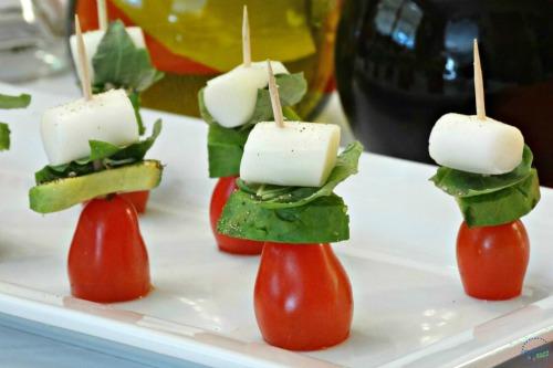 caprese avocado skewers recipe