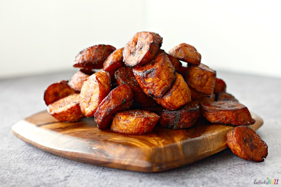 pan-fried Sweet Fried Plantains
