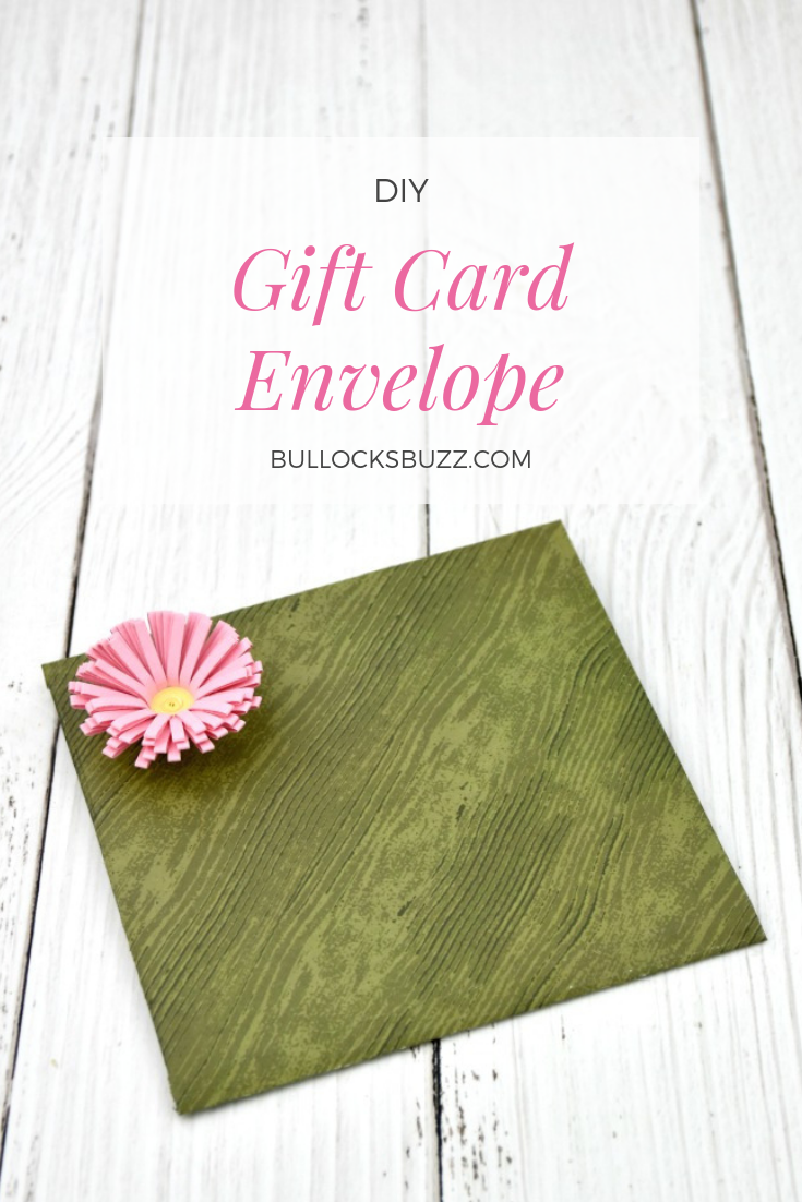 If you, like me, still struggle with the idea that giving a gift card is impersonal, I've got a great solution: easy DIY gift card envelopes!