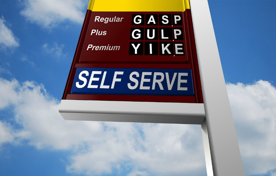 gas prices are high use less gas when traveling