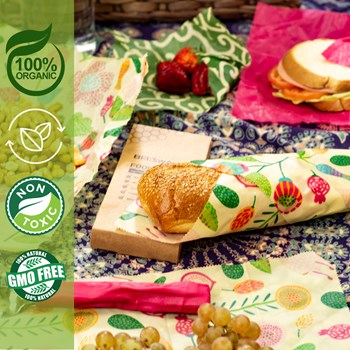 foods wrapped in SAMER wraps