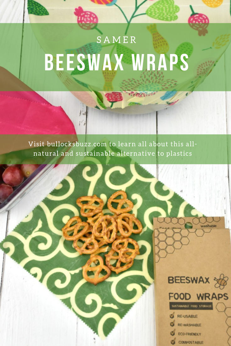 Beeswax Food Wraps are an all-natural, reusable and eco-friendly solution to plastics. #SAMERwraps