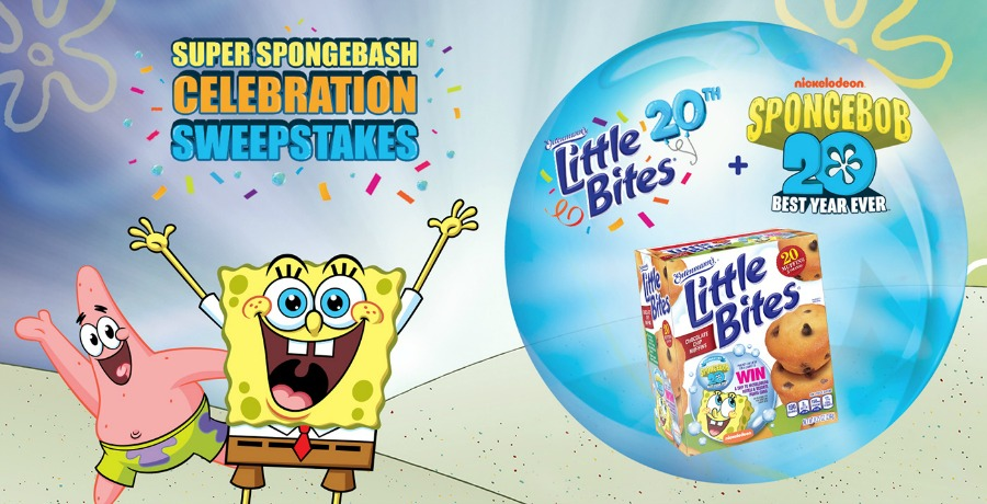 spongebob birthday SpongeBash celebration sweepstakes