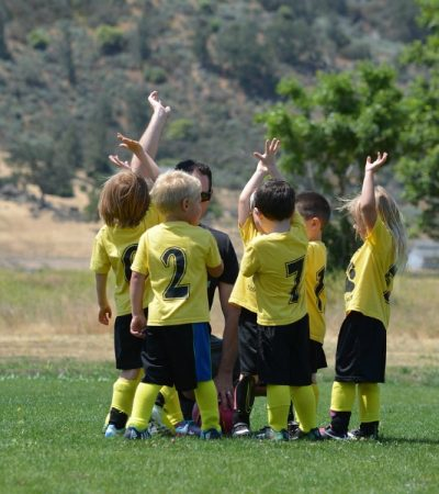 kid's soccer team