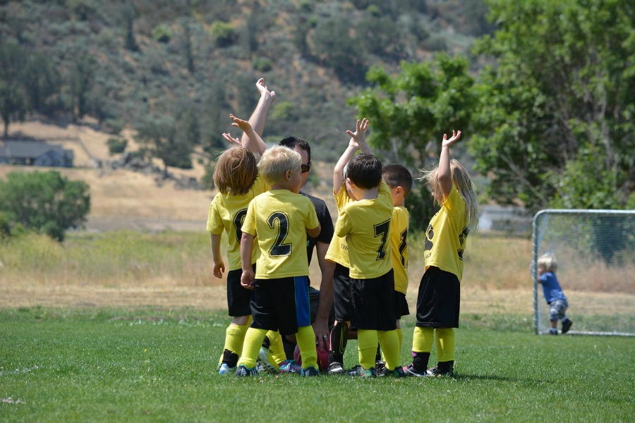 child's soccer team