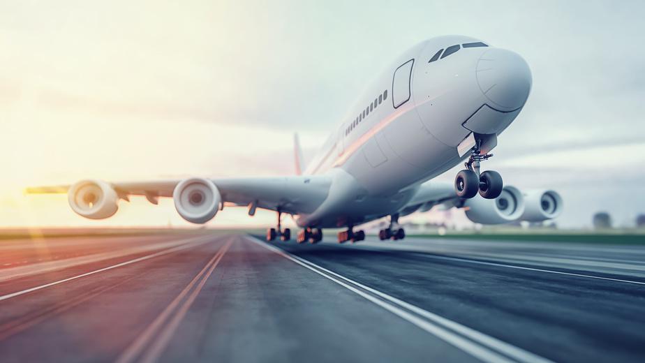 plane taking off traveling during hurricane season