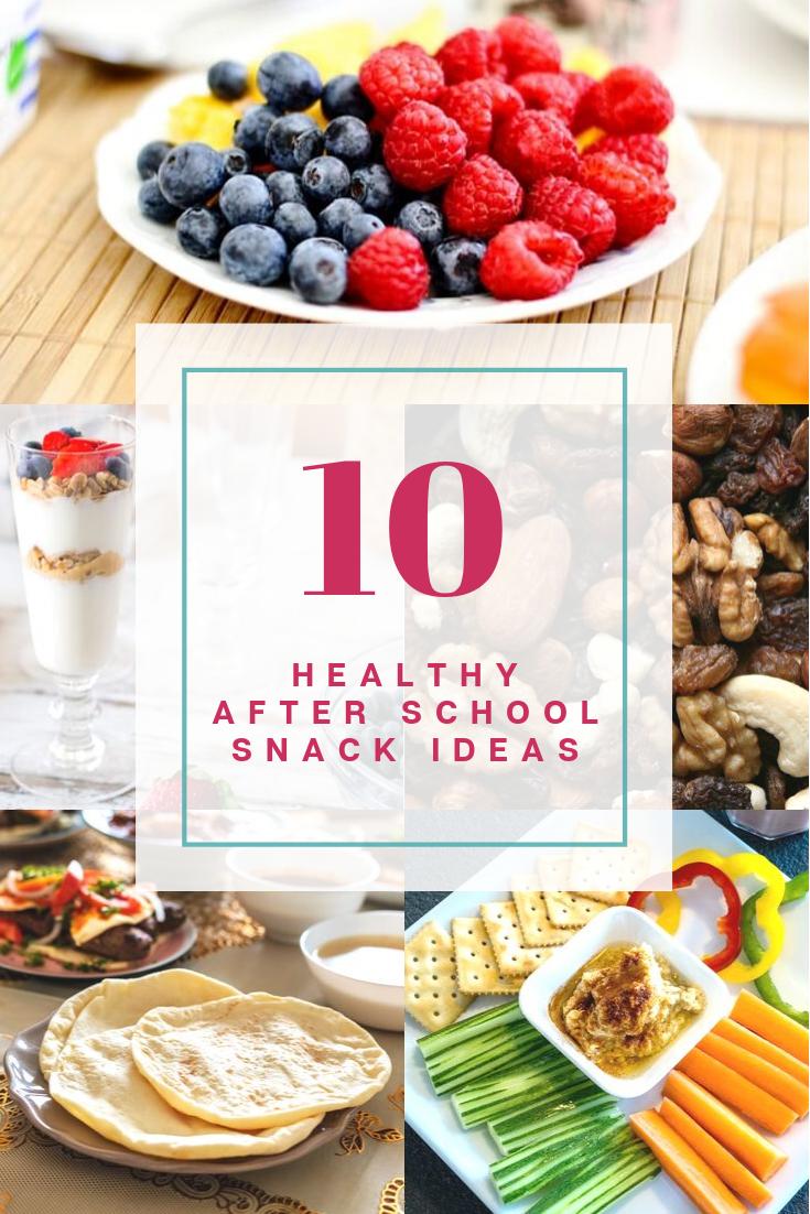 10 healthy after school snack ideas