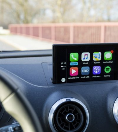 new technology in cars Apple Car Play
