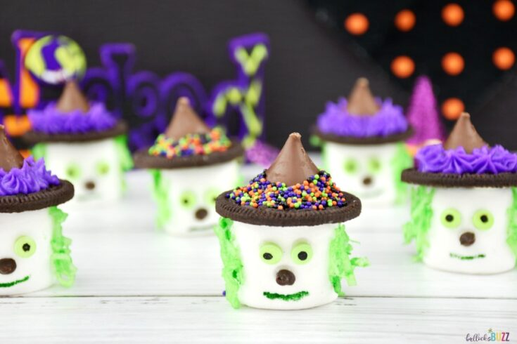 Halloween marshmallows Witches snack